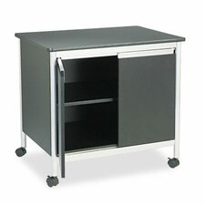 Safco Deluxe Steel Machine Stand 2 Door Credenza