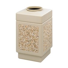 Canmeleon 38-Gal Series Outdoor Aggregate Panel Open Top Receptacle