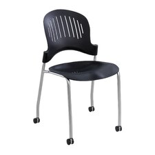 Zippi Armless Stacking Chair (Set of 4)