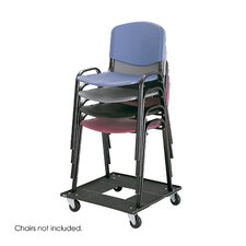 """5"""" x 23"""" x 23.5"""" Stacking Chair Dolly"""