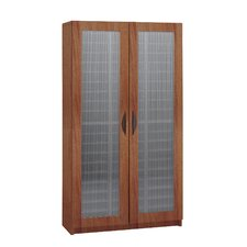 60-Compartment Literature Organizer With Doors