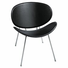 Sy Leather Guest Chair