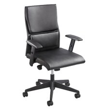 Tuvi Series Mid-Back Leather Executive Office Chair