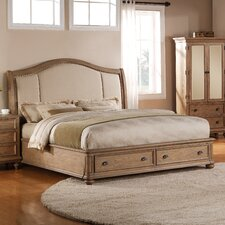 Coventry Upholstered Storage Panel Bed