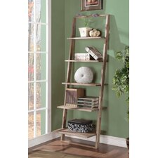 "Lean Living 72"" Leaning Bookcase"