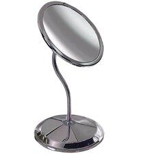 Double Vision Gooseneck Mirror