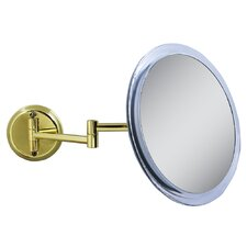 Single Sided Non-Lighted 5X Magnification Wall Mount Mirror