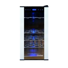 18 Bottle Dual Zone Freestanding Wine Refrigerator