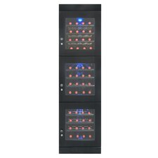 48 Bottle Triple Zone Freestanding Wine Refrigerator