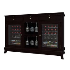 Portofino 36 Bottle Dual Zone Freestanding Wine Refrigerator