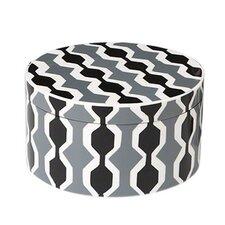 Chelsea Stripe Round Storage Box
