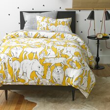 Wildwood Citrine Duvet Cover Set