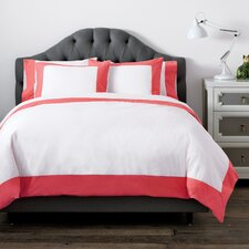 Modern Border Kids Rose Duvet Set