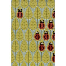 Lady Bug Kids Rug