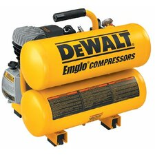 Hand Carry-Electric Compressors - 4 HP Electric 4 Gallon Twin Stack Air Compress