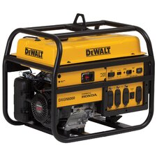 6,000 Watt Professional Generator with Honda Engine
