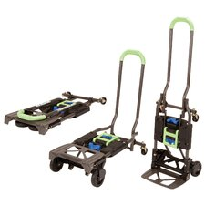 "49"" H x 16.6"" W x 13.75"" D Shifter Multi-Position Folding Hand Truck and Cart"