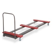 Eight-Foot Table Steel Truck Cart, 10- To 12-Table Capacity