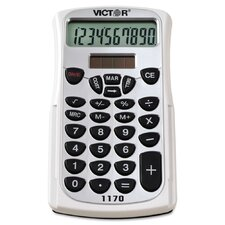 Handheld Business Calculator with Slide Case, 10-Digit LCD