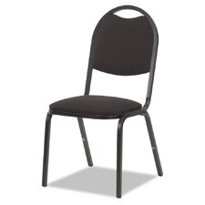 Series Fabric Upholstered Stacking Chair (Set of 4)
