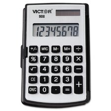 Portable Pocket/Handheld Calculator, 8-Digit LCD