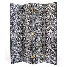 "72"" x 64"" Yuenchai 4 Panel Room Divider"