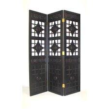 "72"" x 60"" Gothic Diamond 3 Panel Room Divider"
