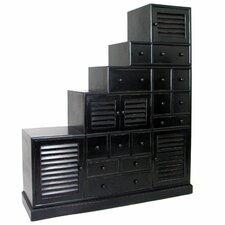 Tonsu Step Cabinet