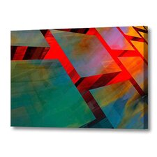 'Glass Cubed' by Scott J. Menaul Graphic Art on Wrapped Canvas