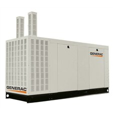100 Kw Liquid-Cooled 417 Amp Single Phase 120/240 V Propane Standby Generator with Catalytic Converter, and CSA, SCAQMD, and EPA Compliance in Aluminum