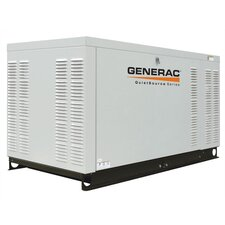 27 Kw Liquid-Cooled Single Phase 120/240 V Standby Generator with CSA, SCAQMD, and EPA Compliance in Aluminum