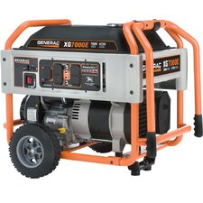 Portable 8,750 Watt Gasoline Generator with Electric Start