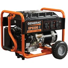 Portable 8,125 Watt Gasoline Generator with Recoil Start
