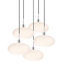 5 Light Grand Oval Pendant