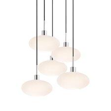 5 Light Oval Pendant