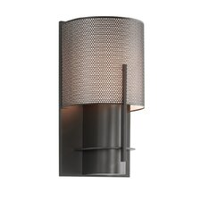 Oberon 1 Light Wall Sconce with Steel Shade