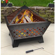 Barrone Fire Pit with Cover