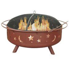 Super Sky Steel Wood Burning Fire Pit
