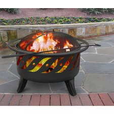 Patio Lights Wood Burning Fire Pit