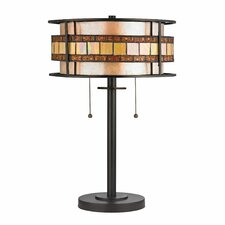 """Annondale 14"""" H Table Lamp with Drum Shade"""