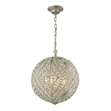 Renaissance 8 Light Globe Pendant