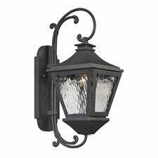 Forged Manor 1 Light Sconce