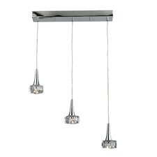 Alea 3 Light Kitchen Island Pendant
