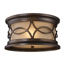 Burlington Gate 2 Light Flush Mount