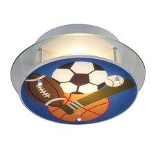 Novelty Sports Theme Semi Flush Mount