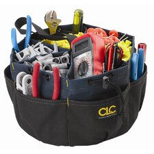 CLC 22 Pocket Drawstring Bucket Tool Bag
