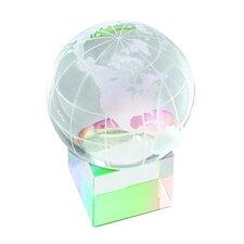 """Prism Cube"" Globe and Base Award"