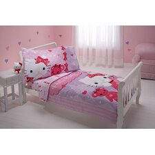 Friends 4 Piece Toddler Bedding Set