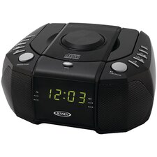 AM / FM Dual Alarm Clock Stereo Radio