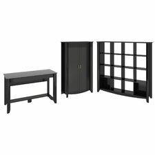 Aero 3-Piece Standard Desk Office Suite